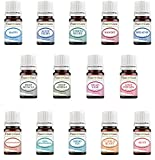 Essential Oil Blends Variety Set – 14 Pack Kit – 100% Pure Therapeutic Grade 5 ml.