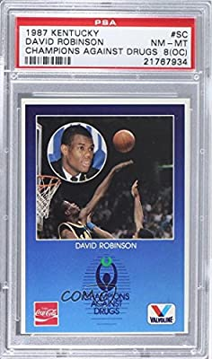 David Robinson PSA GRADED 8 (OC) (Trading Card) 1987 Kentucky Bluegrass State Games Champions Against Drugs - Special Cards #SC.1