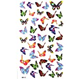 King Horse Small butterfly tattoo stickers waterproof sexy glamorous