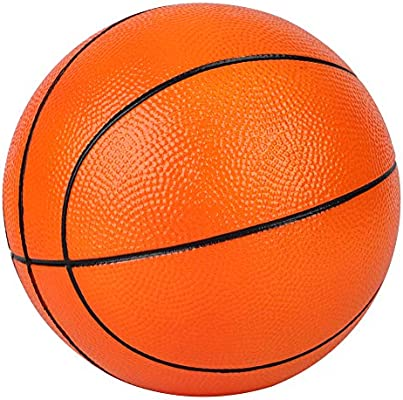 Dellop Pelota de Baloncesto 7 Pulgadas de Doble Color, Suave, para ...