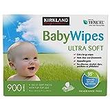Kirkland Signature Baby Wipes (900 Wipes)