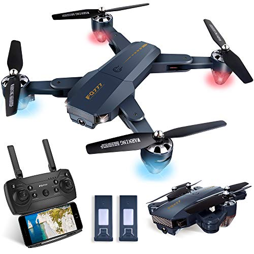 Posiveek Foldable Drone with Camera, WiFi FPV