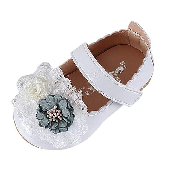 LILICAT ✈✈ 2019 Lentejuelas de Las niñas de los niños Flores Elegantes Princesa Dulce Zapatos Zapatos pequeños Zapatos Frescos Niños Bebés Flor Elegante ...