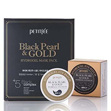 black pearl and gold