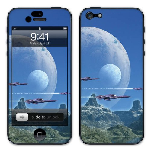 Diabloskinz B0081-0029-0003 Vinyl Skin für Apple iPhone 5/5S polarstarkpoie