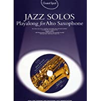 Guest Spot: Jazz Solos Playalong For Alto Saxophone