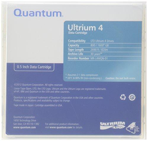 QTMMRL4MQN01 - Quantum 1/2amp;quot; Ultrium LTO-4 Cartridge (Renewed)