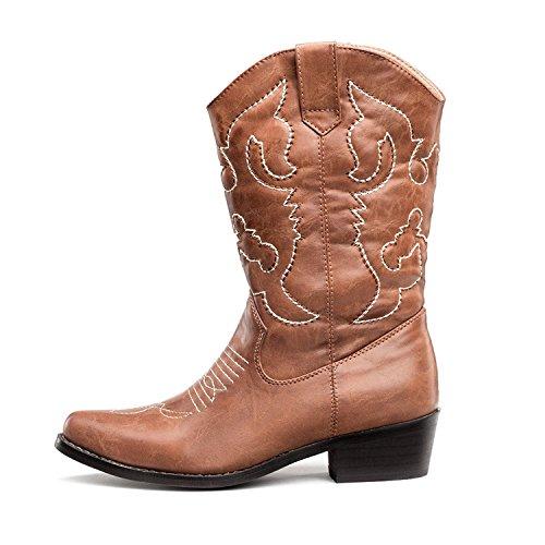 Stivali Donna da unen SHOEZY Cowboy Br 6x8ddzw