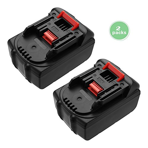 FirstPower 2 Pack 5.5Ah Battery Compatible with Makita 18V Lithium Ion BL1830 BL1815 BL1850 BL1860 BL1840 Cordless Power Tools by FirstPower