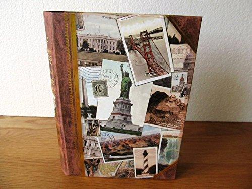 Punch Studio   American Iconic Landmarks   Decorative Nesting Book Box   Medium 95217