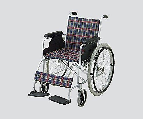 ナビス(アズワン)8-5950-01車椅子(自走式/アルミ製) B07BD35TTN