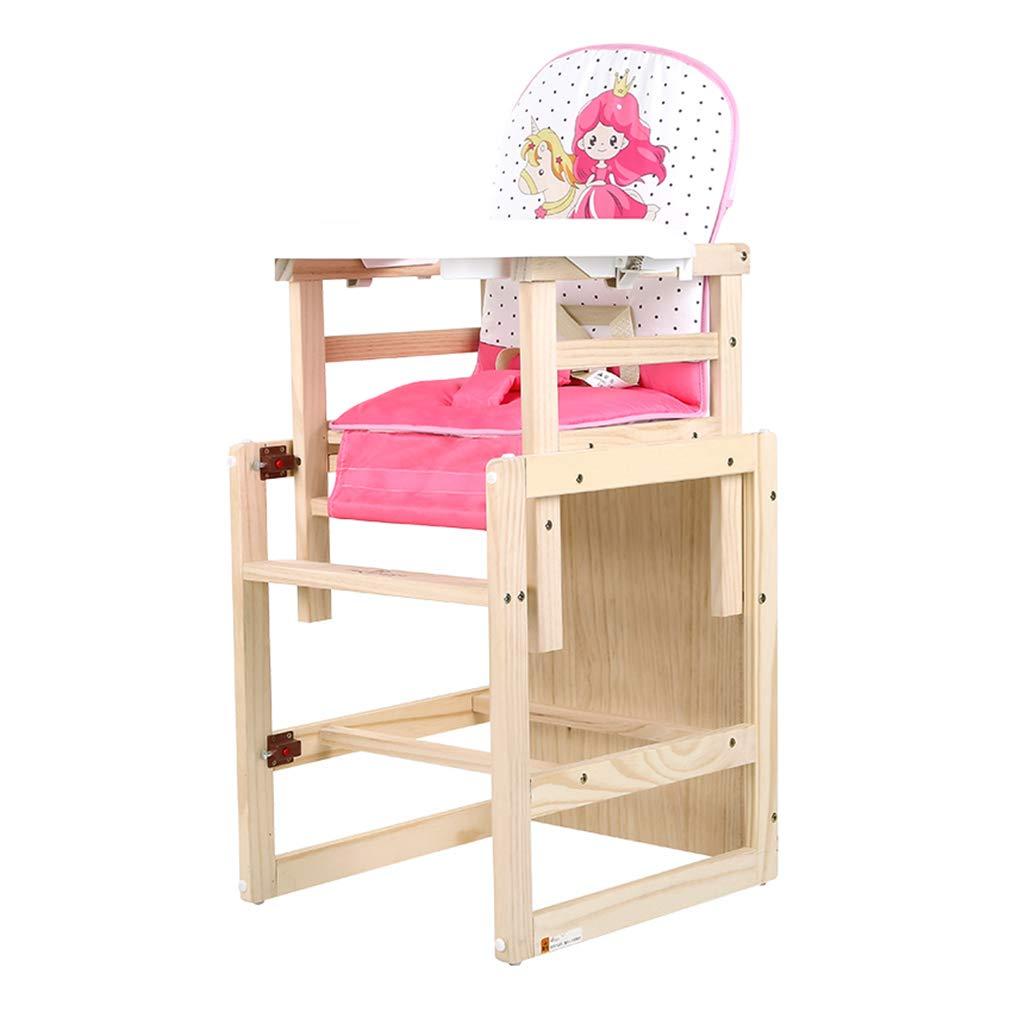 WQZZz-Highchair 木製多機能高椅子 WQZZz-Highchair 人間工学ベビーチェア 環境に優しいトレイ付き子供用ダイニングチェア B07M8VPW7R B07M8VPW7R, 元祖まな板本舗:3e9ddc40 --- bennynews.com