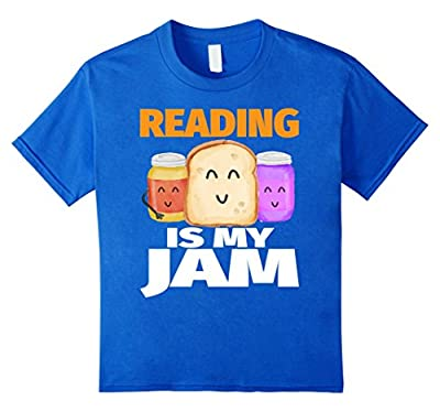 READING IS MY JAM Funny I Love Reading Books T-Shirt