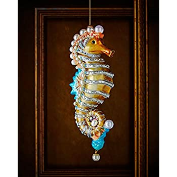 JAY STRONGWATER Seahorse Christmas Ornament - Amazon.com: JAY STRONGWATER Seahorse Christmas Ornament: Home & Kitchen