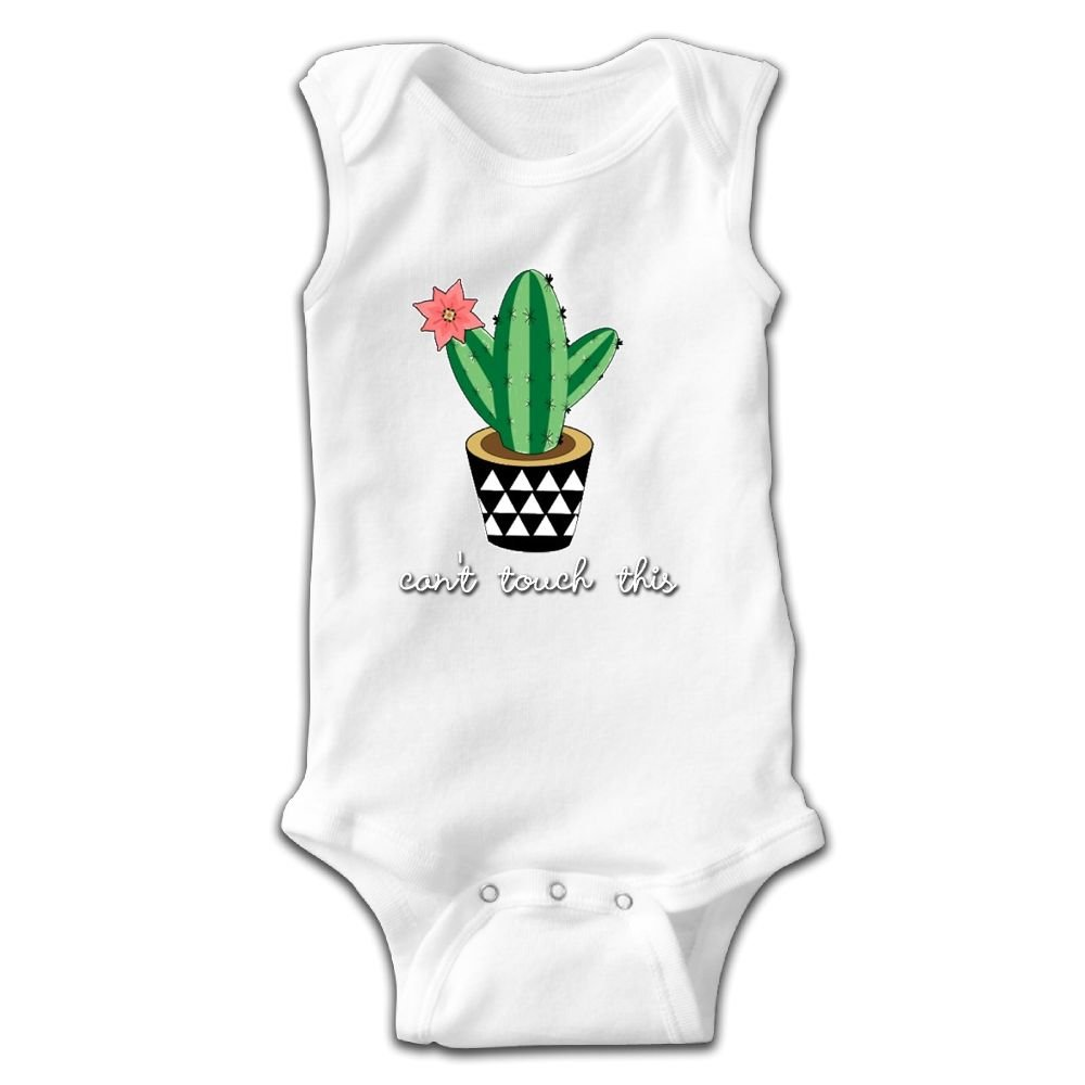 Cactus Can/'t touch this Baby Vest Baby Grow 100/% Cotton Boys Girls Bodys