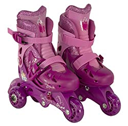 Bravo Sports Disney Princess Junior Sparkle Convertible 2-in-1 Skate, Size 6-9