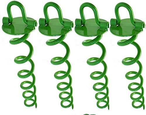 Ashman Spiral Ground Anchor Green product image