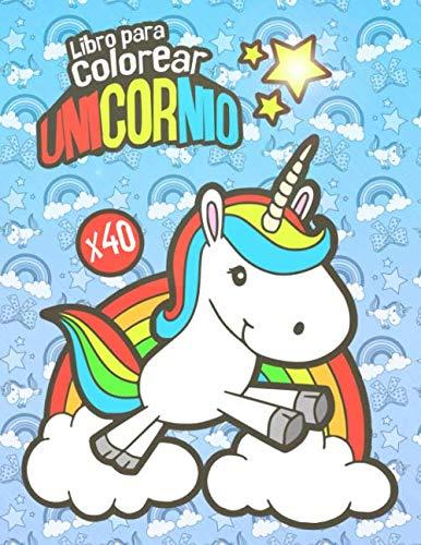 Libro Para Colorear Unicornio Libro Para Colorear Para Ninos De