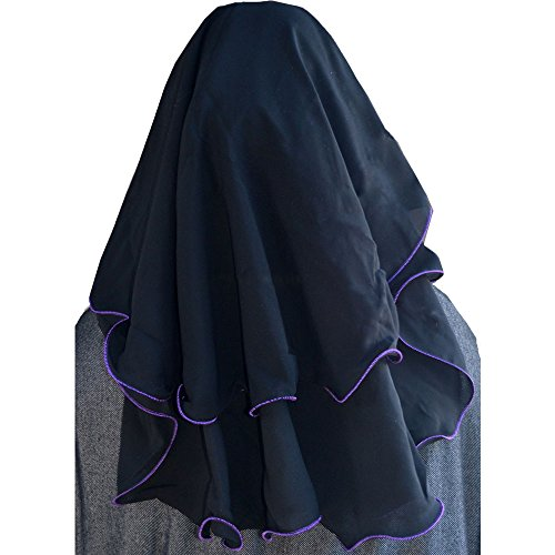 Niqab Hijab 3 Layer Fluttery Butterfly Saudi Face Veil Buy Online