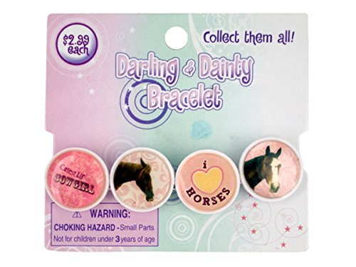Price comparison product image Darling & Dainty Epoxy Link Bracelet - Pack of 72