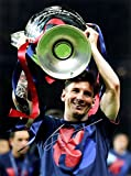 Lionel Messi Signed Autographed Barcelona 12x16 Photo TRISTAR COA