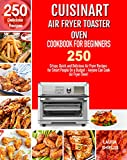 Cuisinart Air Fryer Toaster Oven Cookbook for