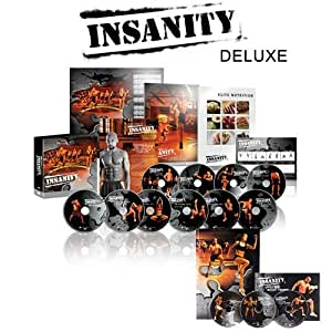 INSANITY 60 Day Deluxe Kit - DVD Workout