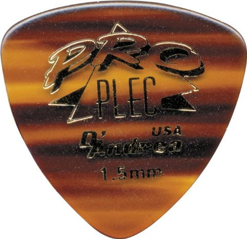 (D'Andrea PRO-346 Rounded Triangle Plec, 12-Piece, Shell, 1.5mm)