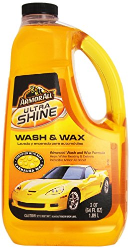 Armor All Ultra Shine Wash and Wax, 64-Fluid Ounce Bottles (Pack of 4)