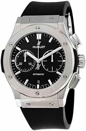 Hublot Classic Fusion Black Dial Chronograph Mens Automatic Watch 521.NX.1171.RX