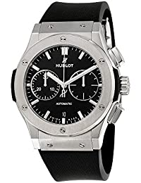 Classic Fusion Black Dial Chronograph Mens Automatic Watch 521.NX.1171.RX