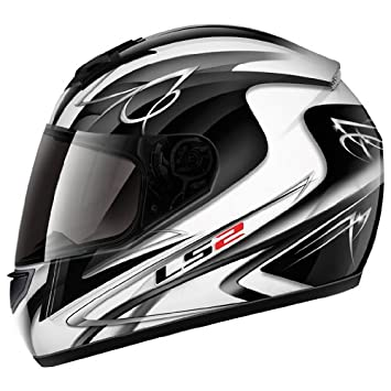 LS2 FF351 Casco Integral Diamond II Blanco/Negro Brillante