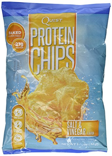 Protein Chips - Salt & Vinegar 1.125 oz (32 grams) Bag(S)