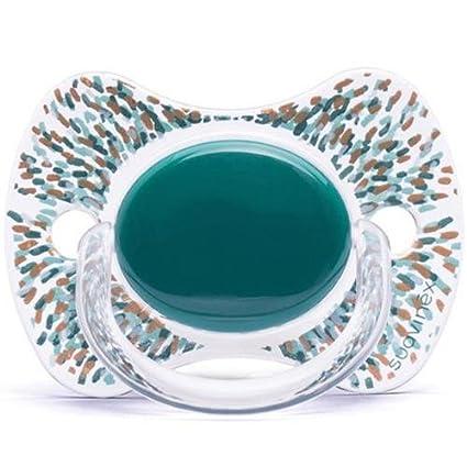 Chupete SUAVINEX Fisiologico silicona + 12 M Haute Couture verde ...