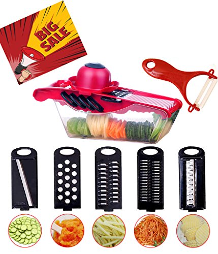 5 in 1 chopper and slicer - 5