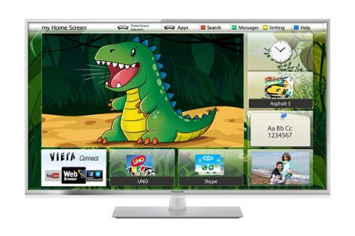 Panasonic Viera TX-L42ET60B 42 inch Widescreen Full HD 1080P 3D LED, Smart Viera, Wi-Fi Built in with Freeview HD (New for 2013)