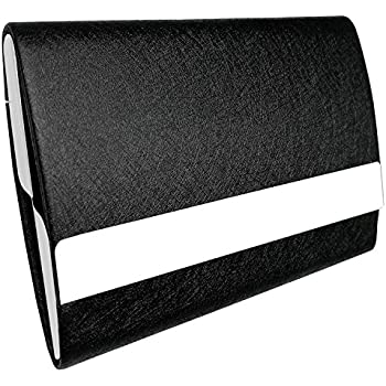 Amazon aluminum double sided business card case name card bolier professional business card holder 100 handmade leather business card case for men and women colourmoves