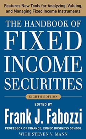 Amazon Com The Handbook Of Fixed Income Securities border=