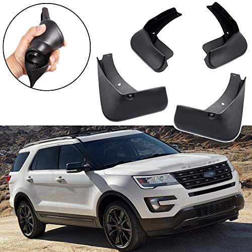 - SPEEDLONG Car Mud Flaps Splash Guards Fender Mudguard for Ford Explorer 2011-2019 12 13 14 15 16 17 18
