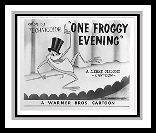 """Michigan J. Frog in """"One Froggy Evening"""" Studio Lobby Card Publicity Still - Warner Brothers"""