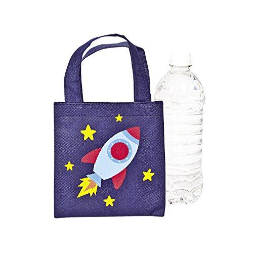 Mini Spaceship Tote Bags - 12 -
