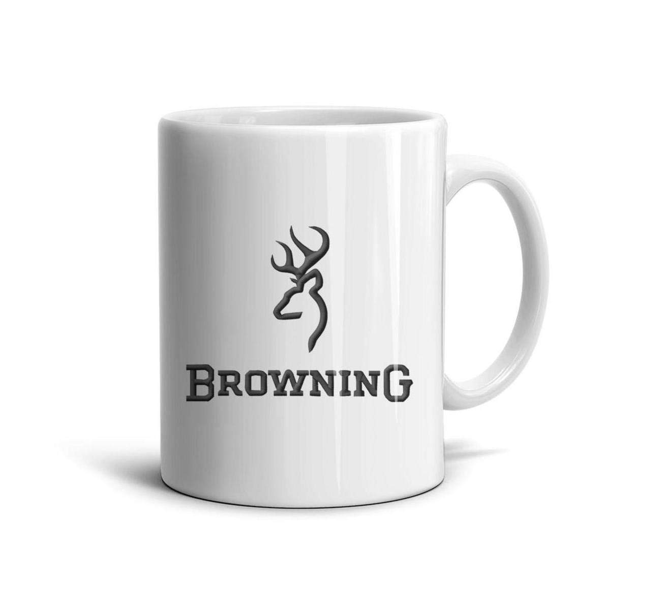 HIYITUTA Browning Clipart Coffee Or TeaMugs White Inspirational Mug 11 Oz White Ceramic Mugs Boyfriend Girls