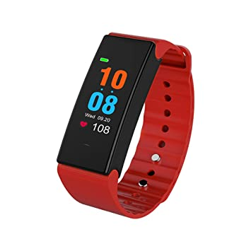 Lixada Color de Pantalla Inteligente Reloj Deportes Pulsera Deportes Muñequeras Fitness Entrenamiento Distancia Tracker