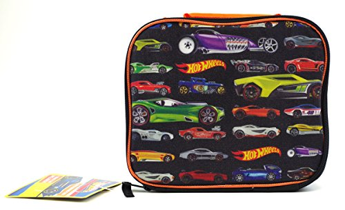 Avance rpido de los nios Hot Wheels Lunch Box