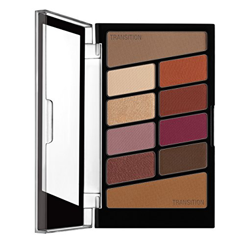 wet n wild Color Icon Eyeshadow 10 Pan Palette, Rose in the Air, 0.3 Ounce