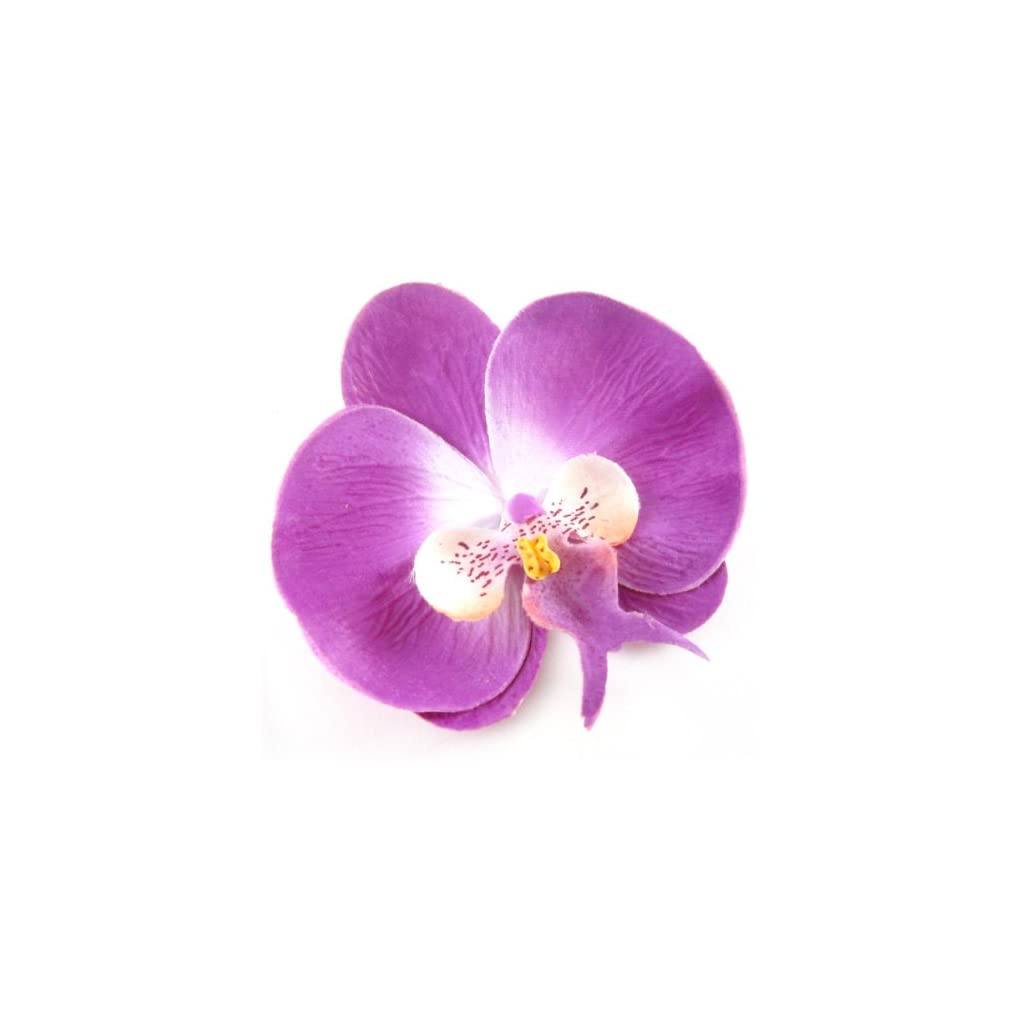 10-Purple-Phalaenopsis-Orchid-Silk-Flower-Heads-375-Artificial-Flowers-Heads-Fabric-Floral-Supplies-Wholesale-Lot-for-Wedding-Flowers-Accessories-Make-Bridal-Hair-Clips-Headbands-Dress