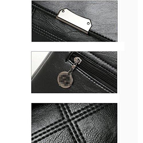 Elaborazione Cerniera Rossa Tracolla Mini Dell'unità Morbido Multicolore Casuale A Borsa Signora Donne Di Reticolo Moda PEaq6Zw