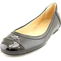 Women's Chelsea Matte Calf Patent Leather Flats, Style A4609