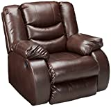 Signature Design by Ashley 9520125 Linebacker DuraBlend Collection Recliner, Espresso