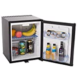 SMETA Portable Absorption Refrigerator Compact Mini Fridge with...